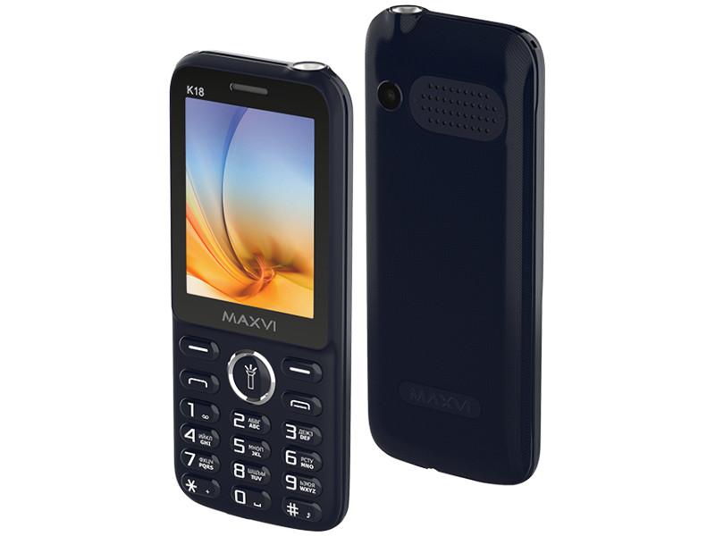 Сотовый телефон Maxvi K18 Blue