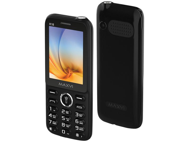 Сотовый телефон Maxvi K18 Black