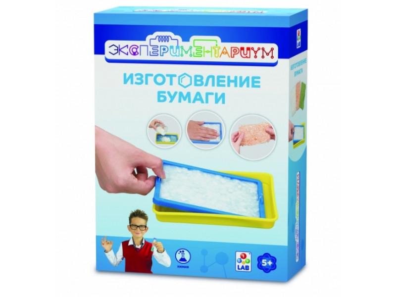 Игра 1Toy Экспериментариум Изготовление бумаги Т14057