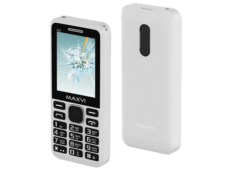 Сотовый телефон Maxvi C25 White