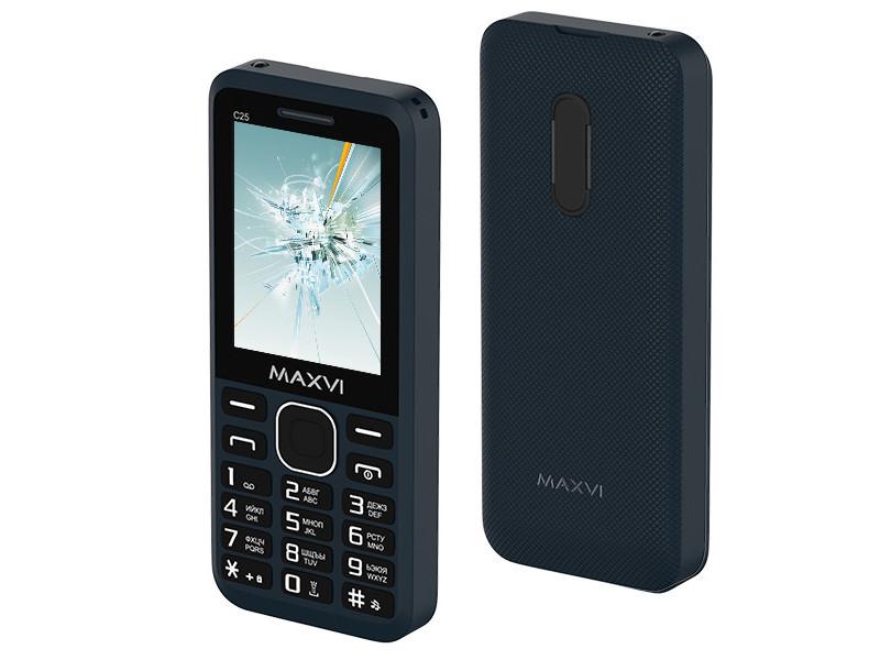 Сотовый телефон Maxvi C25 Blue