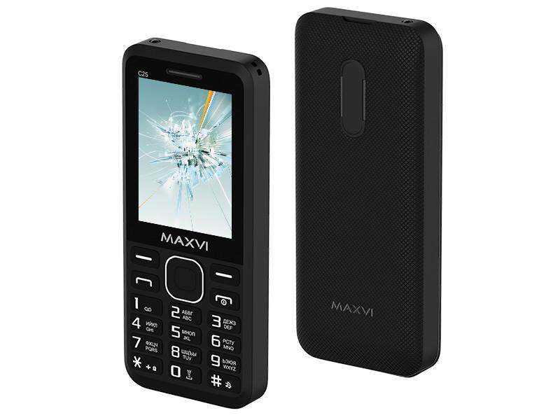 Сотовый телефон Maxvi C25 Black