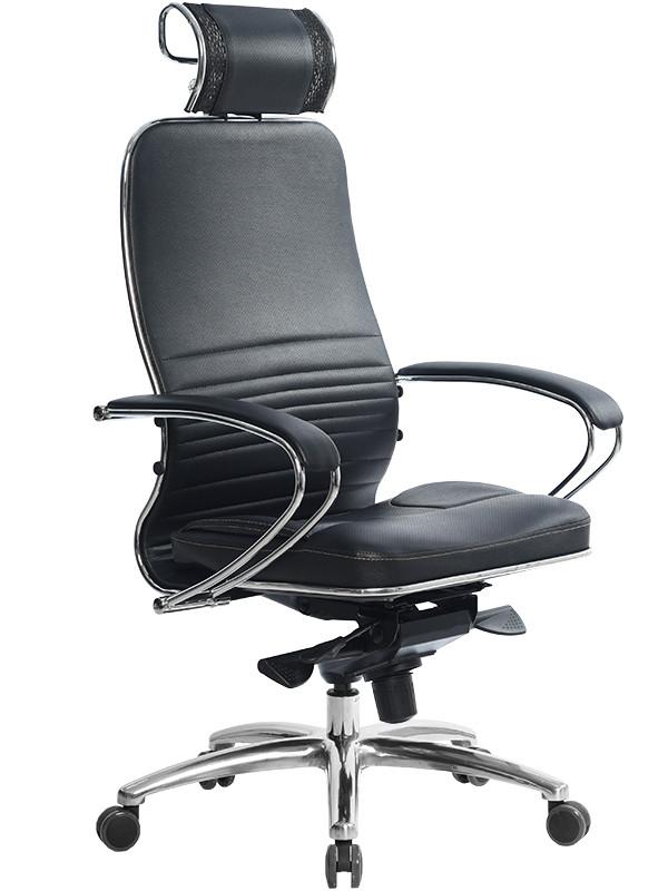 Компьютерное кресло Метта Samurai KL-2.03 с 3D подголовником Black