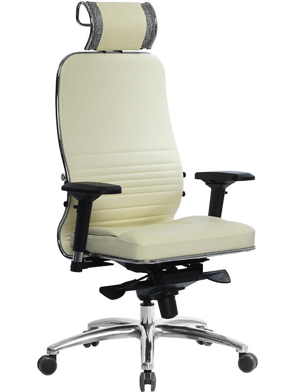 Компьютерное кресло Метта Samurai KL-3.03 с 3D подголовником Beige