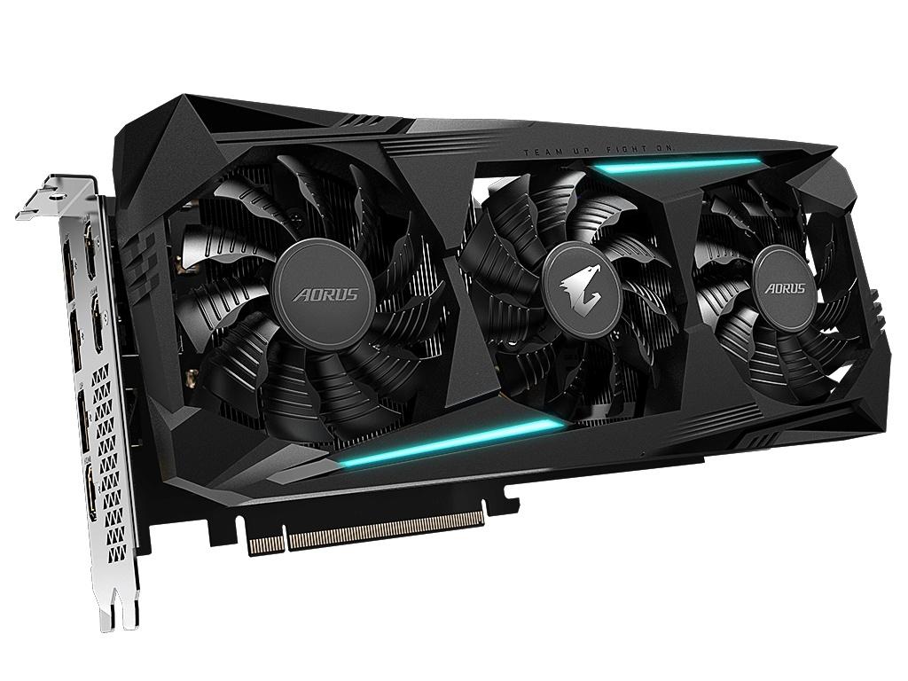 Видеокарта GigaByte Radeon RX 5700 XT 1770Mhz PCI-E 4.0 8192Mb 14000Mhz 256 bit 3xHDMI 3xDP GV-R57XTAORUS-8GD цена и фото
