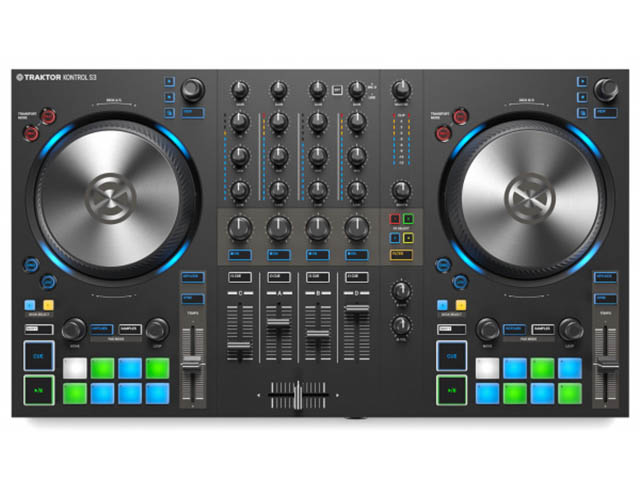MIDI-контроллер Native Instruments Traktor Kontrol S3