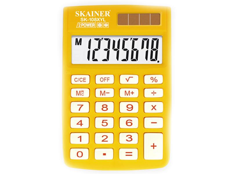 Калькулятор Skainer SK-108XYL цена