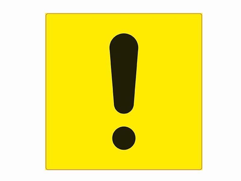 Наклейка на авто AVS Знак Начинающий водитель ГОСТ 15x15cm ZS-04 A07144S - наружная самоклеющаяся 1шт