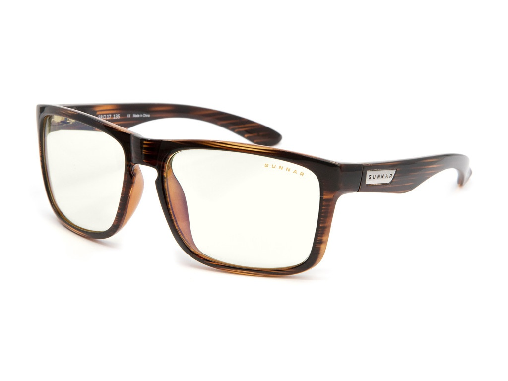 Очки компьютерные Gunnar Intercept Clear Dark Oak INT-01709