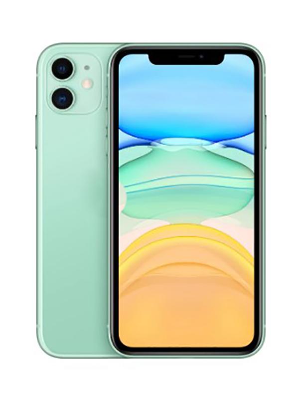 Сотовый телефон APPLE iPhone 11 - 128Gb Green MWM62RU/A Выгодный набор для Selfie + серт. 200Р!!! сотовый