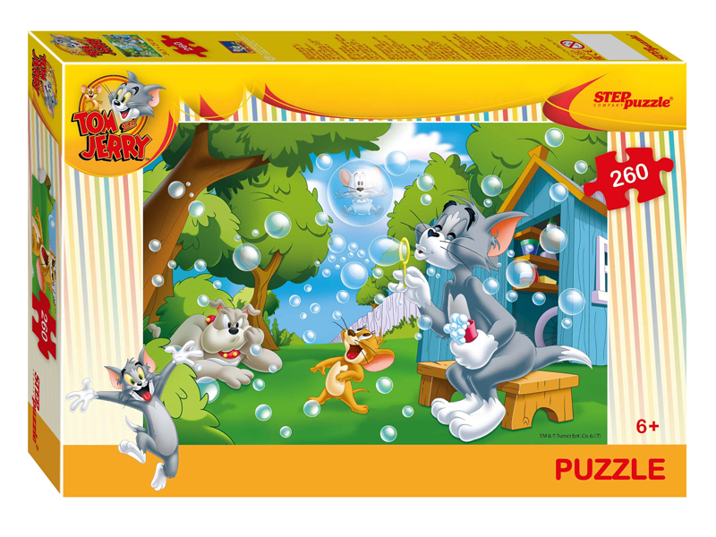 Пазл Step Puzzle Том и Джерри 260 эл. 95072 / 274462