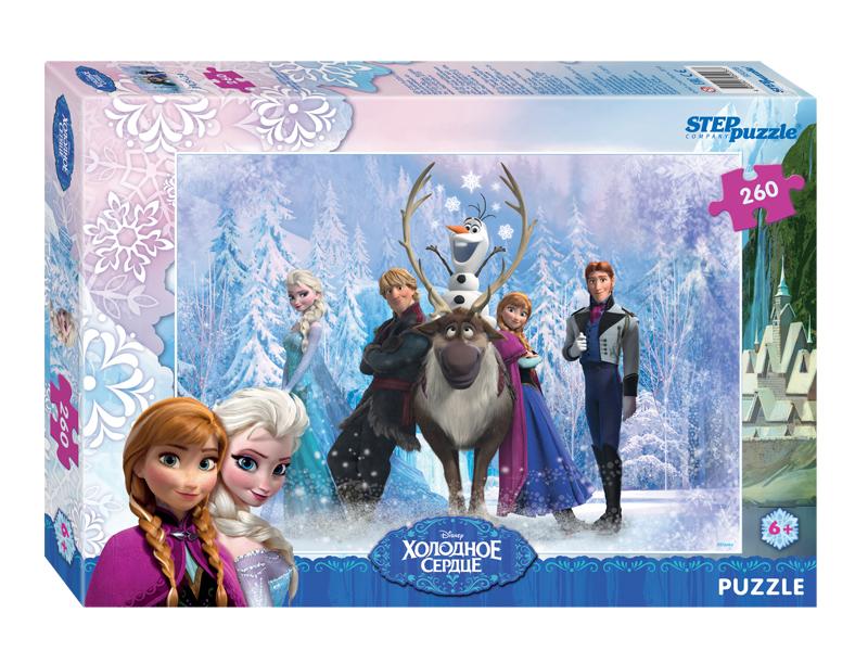 Пазл Step Puzzle Disney Холодное сердце 260 эл. 95028 / 255476