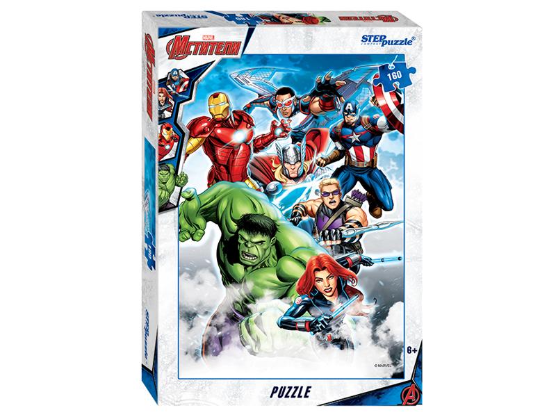 Пазл Step Puzzle Marvel Мстители-3 160 эл. 94080 / 255474