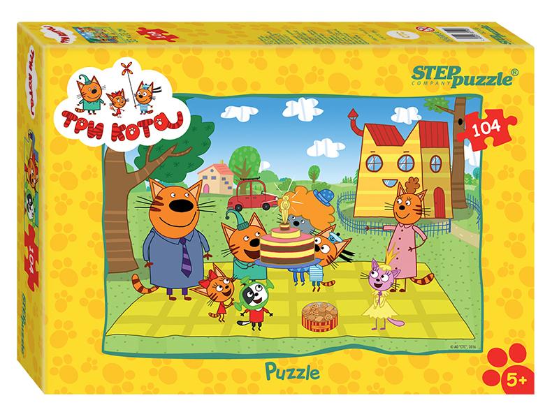 Пазл Step Puzzle Три кота 104 эл. 82156 / 264885