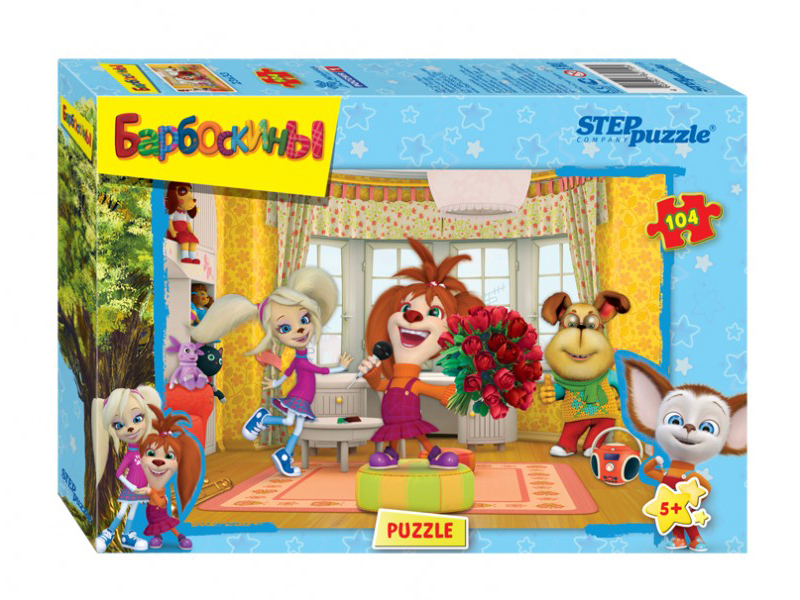 Пазл Step Puzzle Барбоскины 104 эл. 82119 / 274459