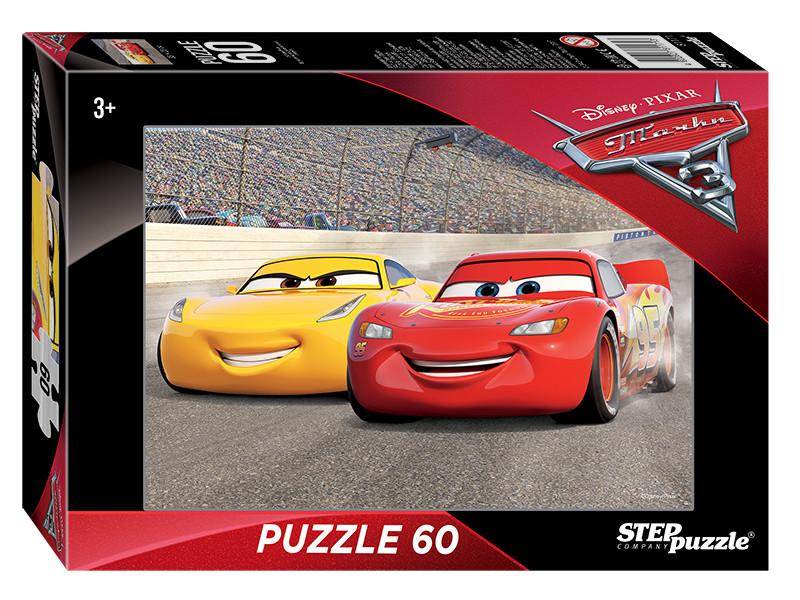 Пазл Step Puzzle Disney Тачки-3 60 эл. 81171 / 255473