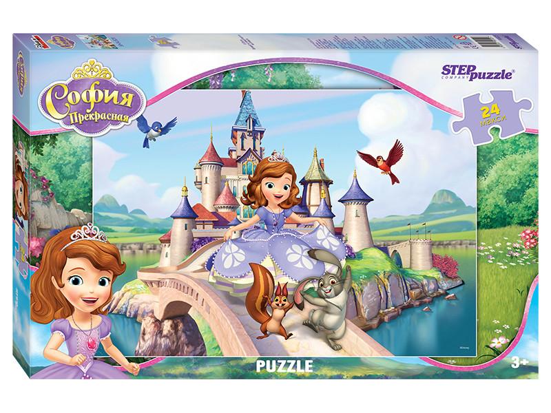 Пазл Step Puzzle Maxi Принцесса София 24 эл. 90025 / 227029