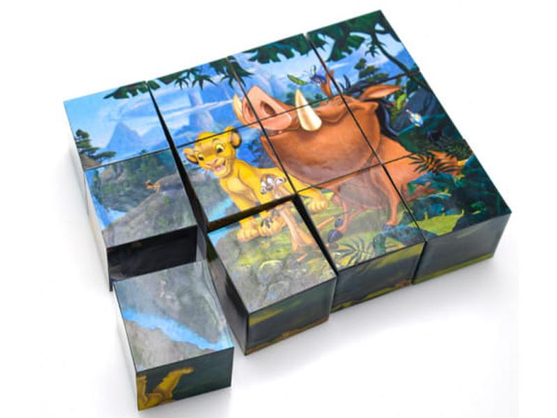 Кубики Step Puzzle Disney Король Лев 12шт 87156 / 292742