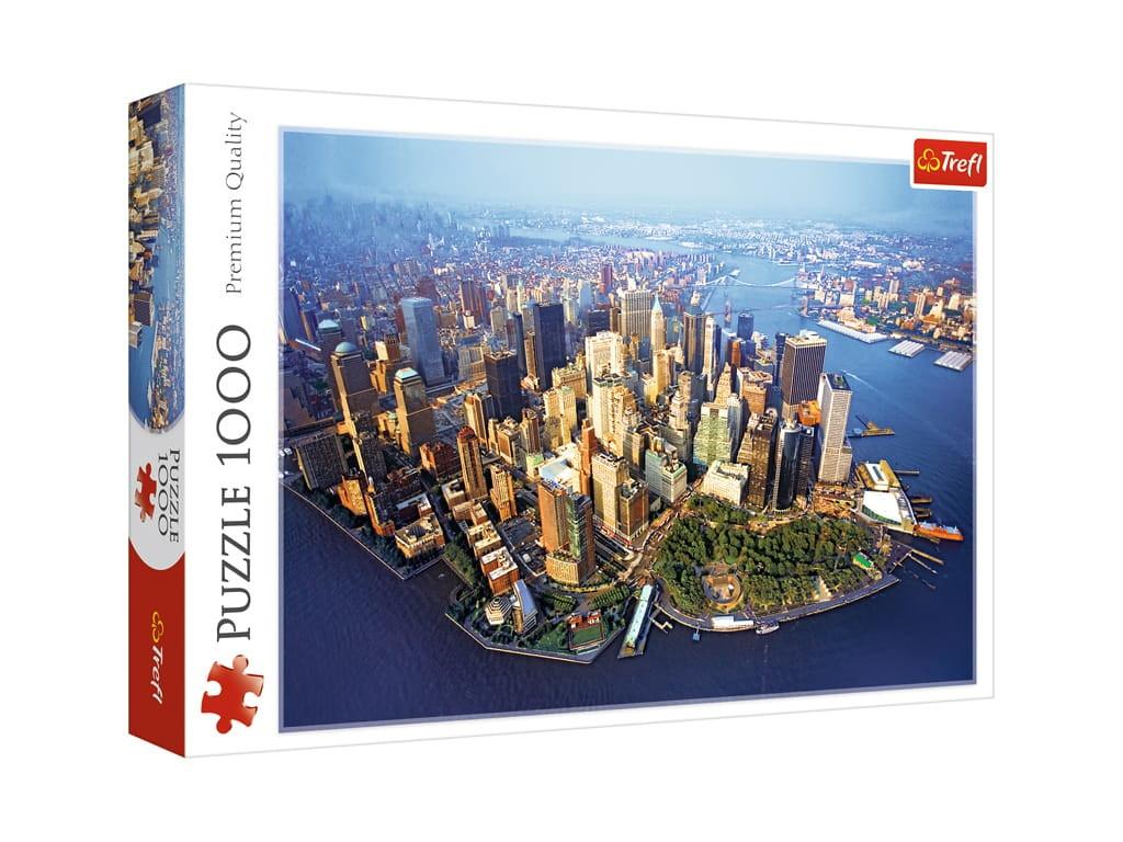 Пазл Trefl Нью-Йорк 1000 эл. TR10222 / 292366 стоимость