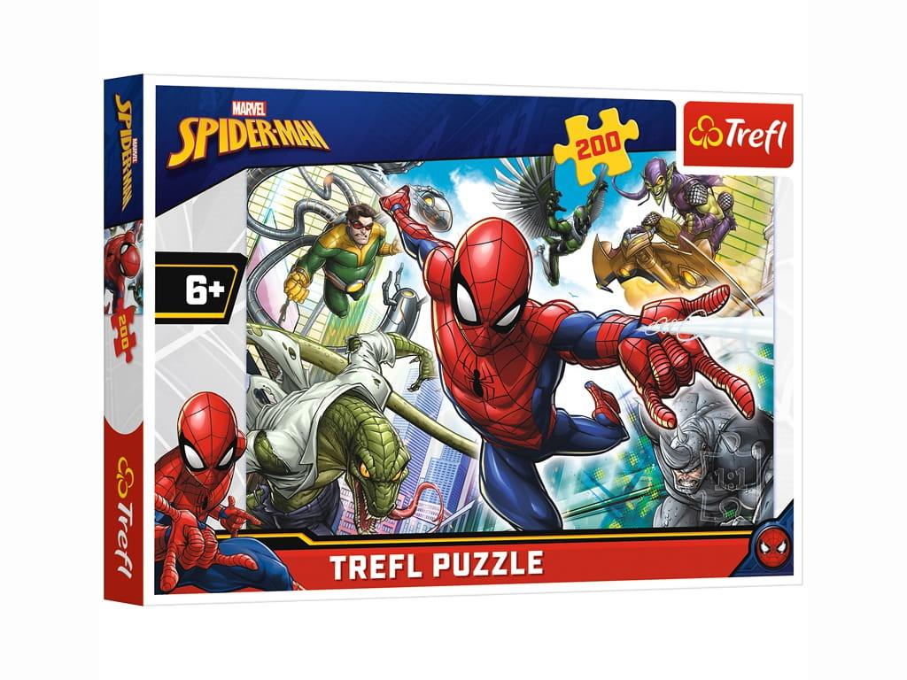 Пазл Trefl Супергерой. Человек-паук 200 эл. TR13235 / 292365