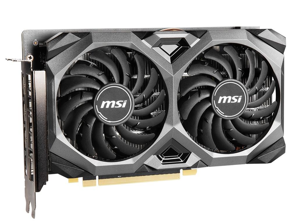 Видеокарта MSI Radeon RX 5500 XT 1647Mhz PCI-E 4.0 8192Mb 14000Mhz 128 bit HDMI 3xDP HDCP Mech 8Gb OC