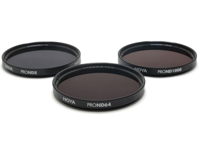 Светофильтр HOYA Filter Kit Pro ND8/64/1000 - 49mm - набор светофильтров 97322 фото