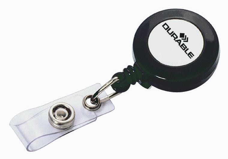 Держатель-рулетка для бейджей Durable 10шт 8152-58