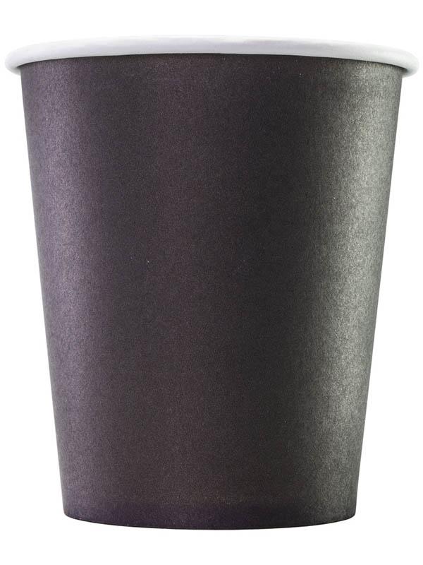 Одноразовые стаканы Формация 250ml 75шт Black HB80-280-0458