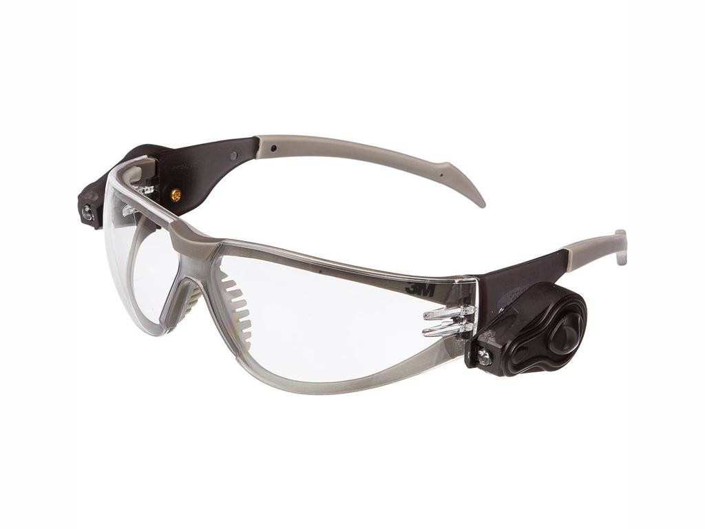 Очки защитные 3M Led Light Vision Transparent 11356-00000M