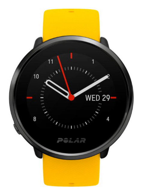 Часы Polar Ignite L Yellow-Black фото