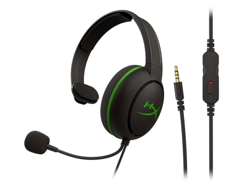 Наушники HyperX Cloud Chat Black-Green