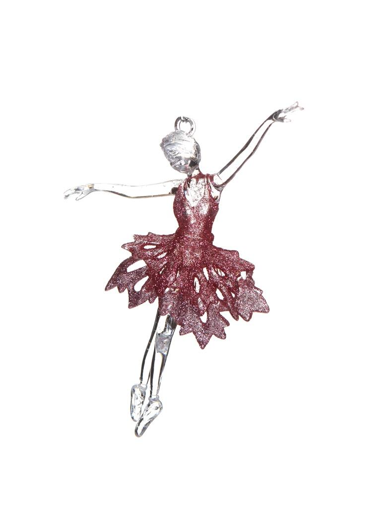 Украшение Crystal Deco Ажурная балерина 15cm Pink 171116