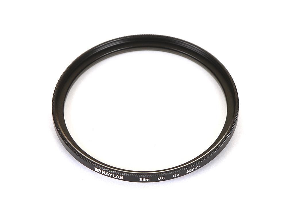 Светофильтр Raylab UV Slim 58mm RLSUV58