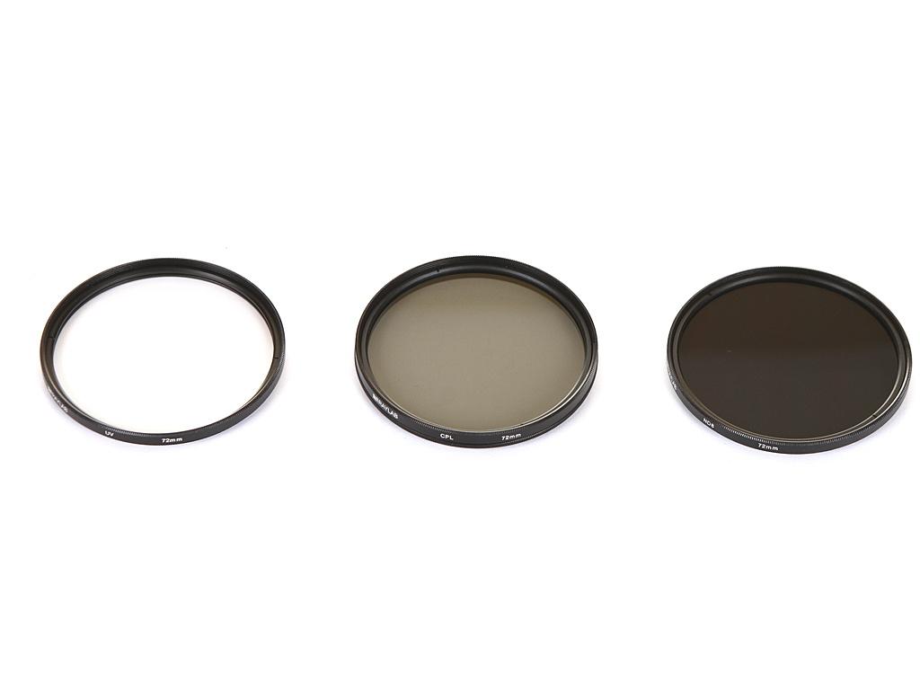 Светофильтр Raylab UV/CPL/ND8 72mm - набор светофильтров RLK-UVNDCPL72