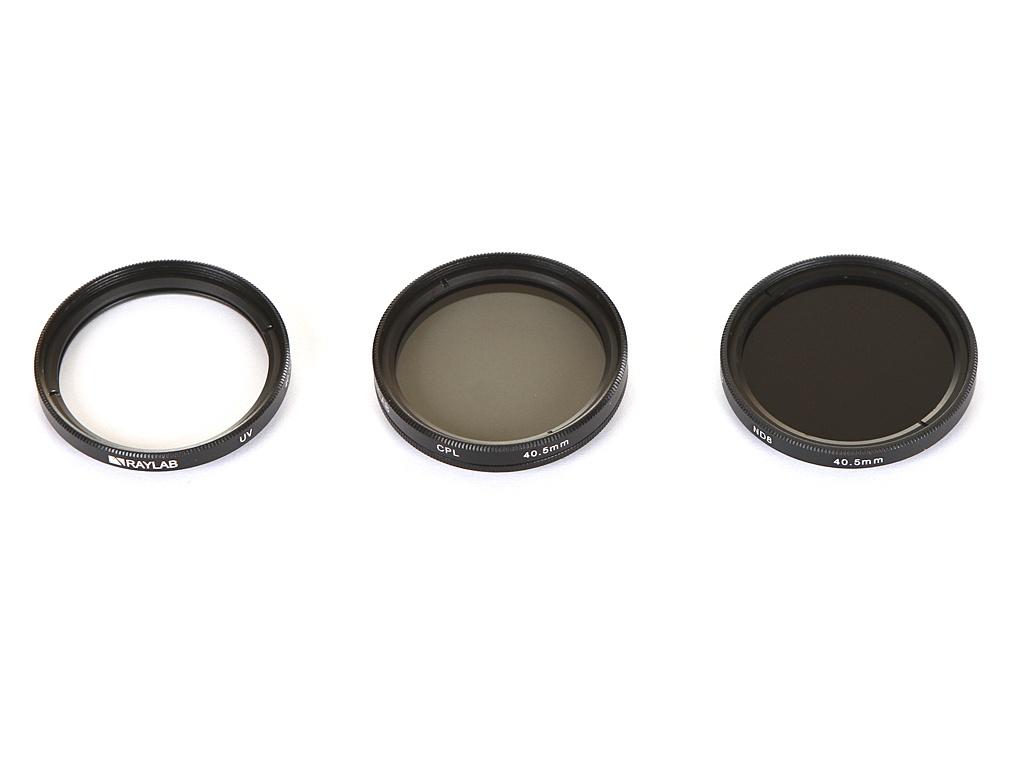 Светофильтр Raylab UV/CPL/ND8 40.5mm - набор светофильтров RLK-UVNDCPL40.5