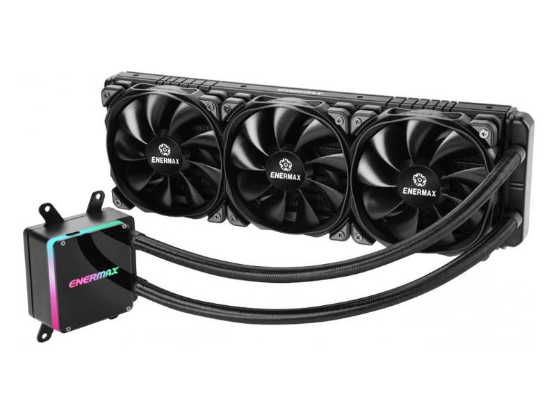 Водяное охлаждение Enermax LiqTech TR4 II RGB 360 ELC-LTTRTO360-TBP (AMD sTRX4/TR4/SP3) цена 2017
