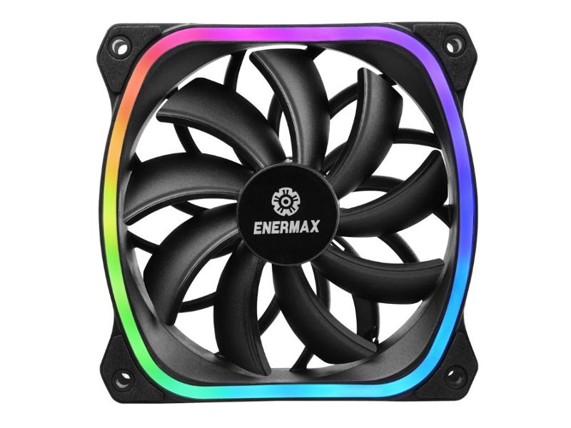 Вентилятор Enermax SquA RGB 120mm UCSQARGB12P-SG