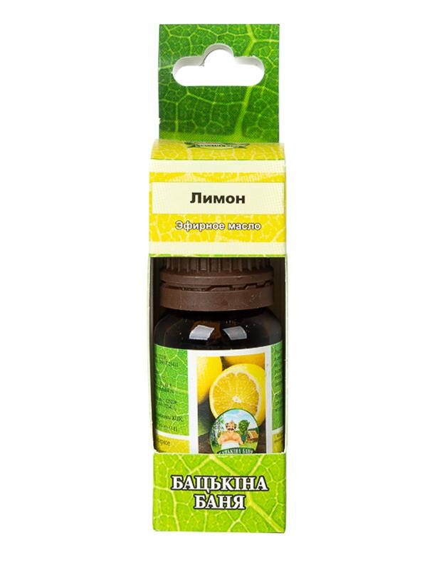Масло эфирное Бацькина баня Лимон 17052