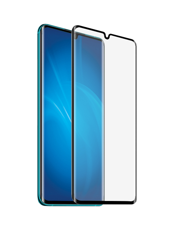 Защитный экран Red Line для Xiaomi Mi Note 10 / Pro Full Screen 3D Tempered Glass Glue Black УТ000019213