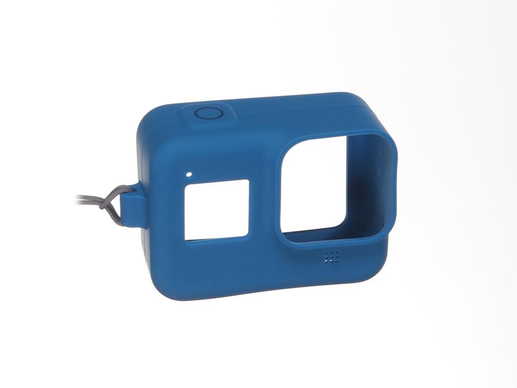 Фото - Аксессуар GoPro AJSST-003 Blue для Hero 8 чехол силиконовый swiss military hanowa часы swiss military hanowa 06 4298 3 04 003 коллекция multimission