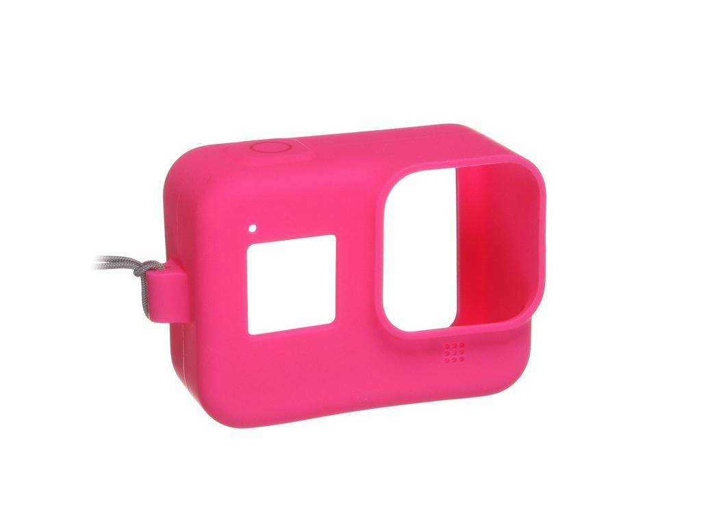 Фото - Аксессуар GoPro AJSST-007 Pink для Hero 8 чехол силиконовый аксессуар для упаковки бант
