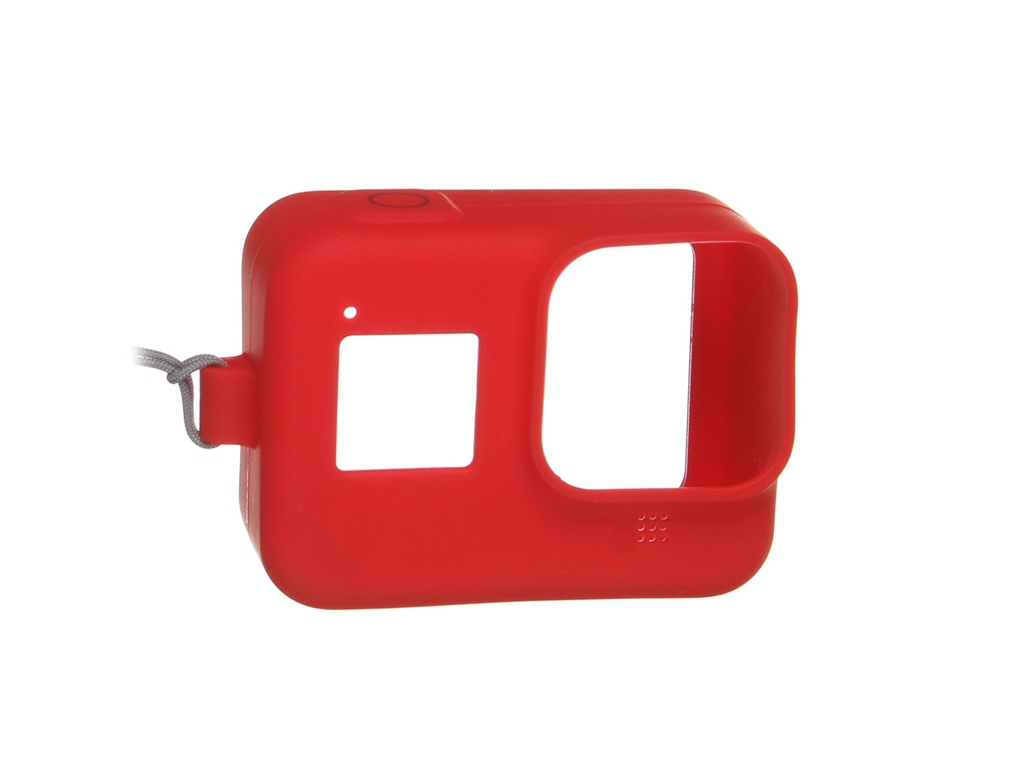 Фото - Аксессуар GoPro AJSST-008 Red для Hero 8 чехол силиконовый 24 008 фигура обезьяна игра на маримбе бронза о бали