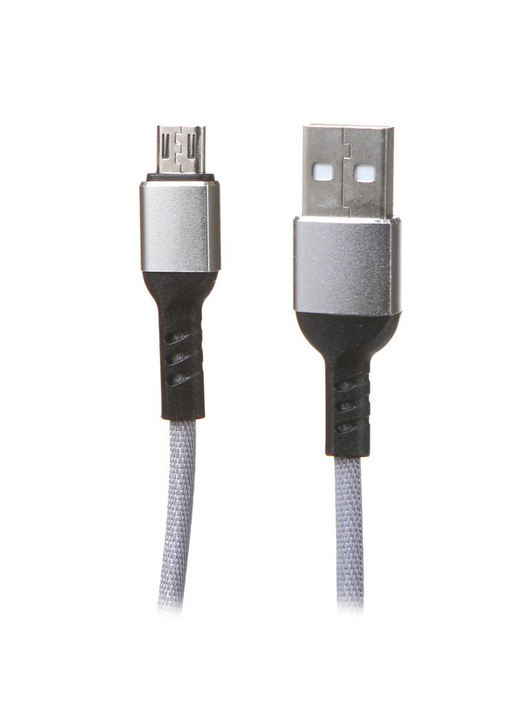 Фото - Аксессуар Perfeo USB 2.0 A - MicroUSB 1m Grey U4806 аксессуар
