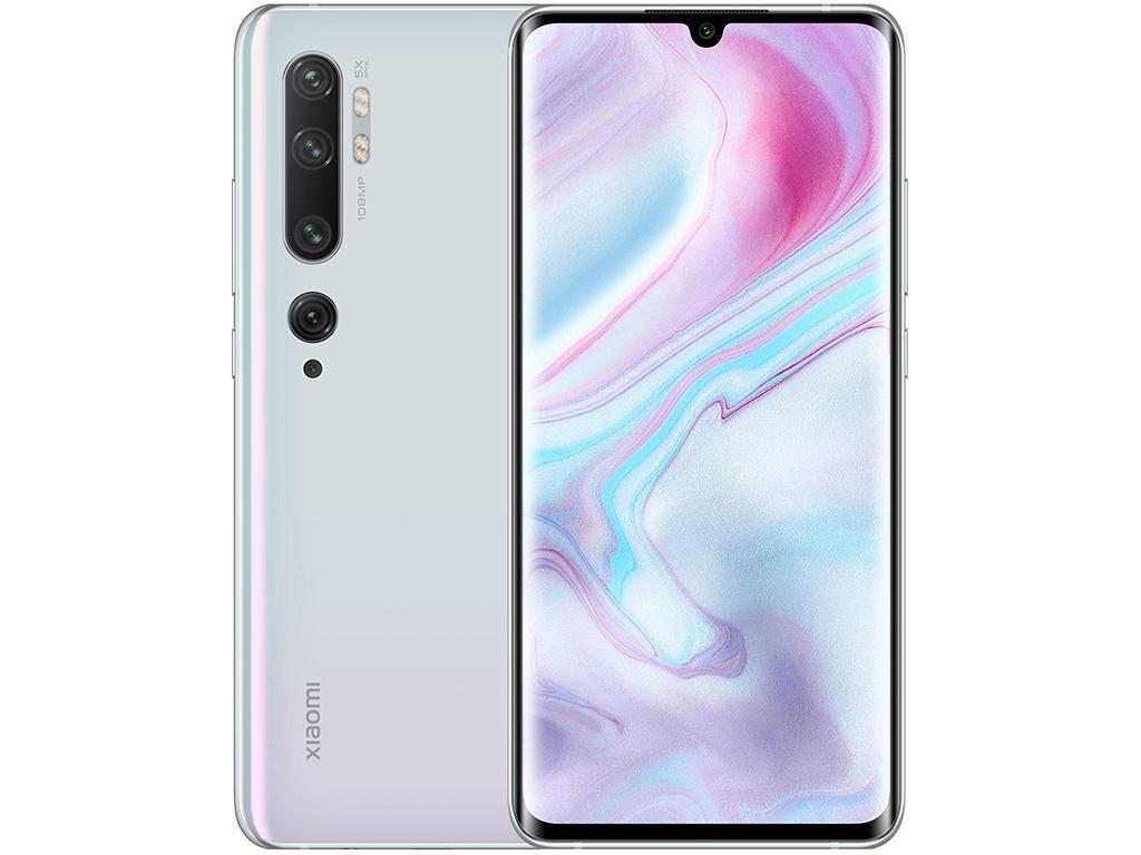 Сотовый телефон Xiaomi Mi Note 10 Pro 8/256GB White