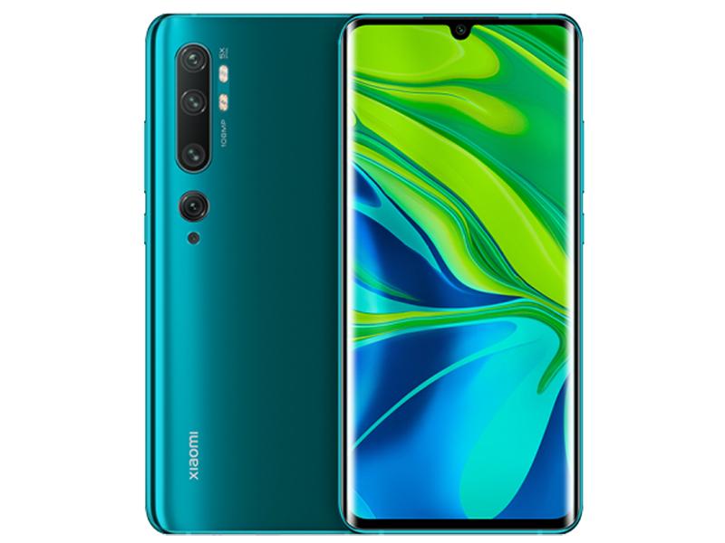 Сотовый телефон Xiaomi Mi Note 10 6Gb/128Gb Green фото