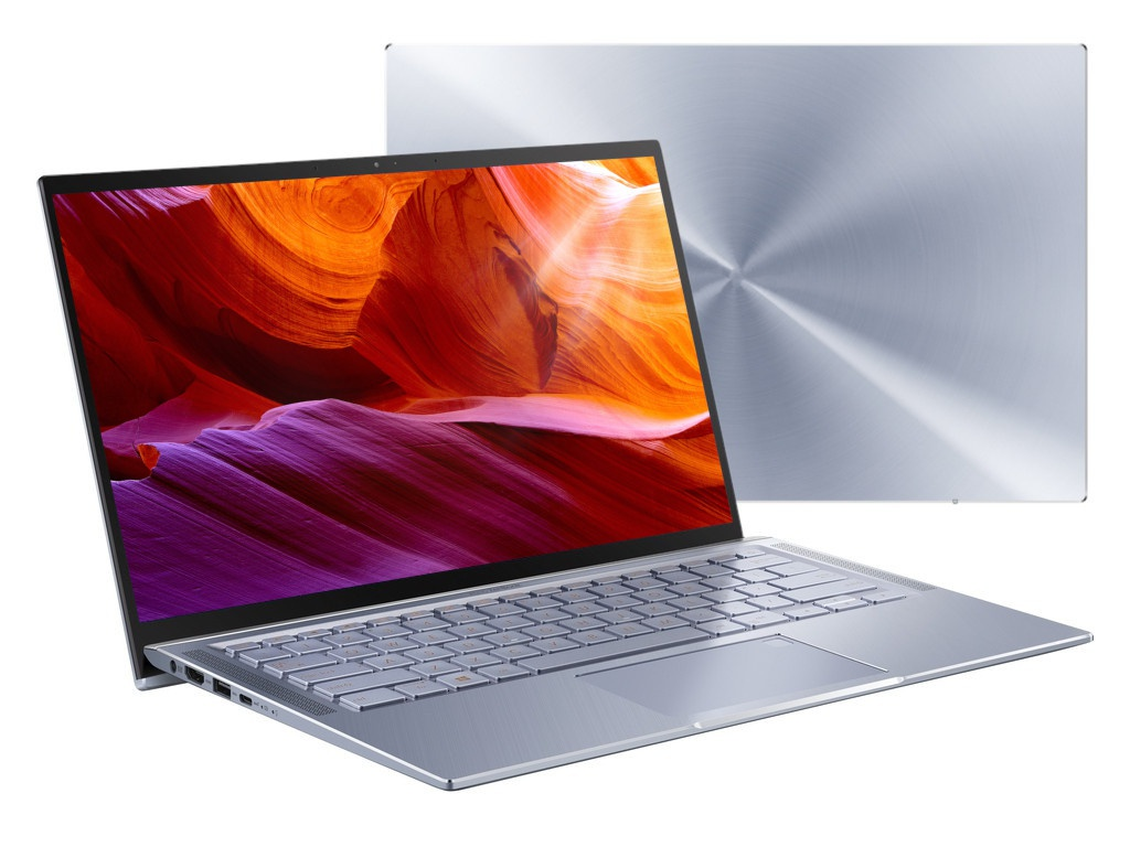 Ноутбук ASUS Zenbook UX431FA-AM020 90NB0MB3-M01680 (Intel Core i3-8145U 2.1GHz/4096Mb/256Gb SSD/No ODD/Intel HD Graphics/Wi-Fi/Bluetooth/Cam/14/1920x1080/Endless)