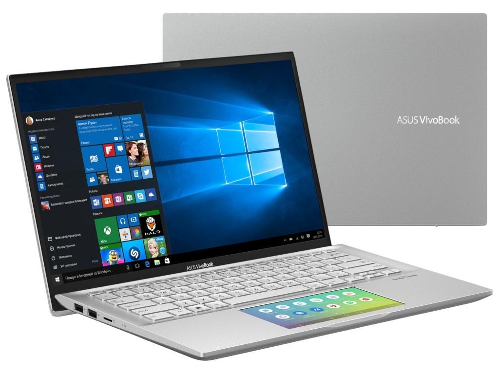 Ноутбук ASUS VivoBook S432FL-AM051T 90NB0ML2-M01080 (Intel Core i7-8565U 1.8GHz/8192Mb/512Gb SSD/No ODD/nVidia GeForce MX250 2048Mb/Wi-Fi/Bluetooth/Cam/14.0/1920x1080/Windows 10 64-bit) ноутбук asus n580vd dm069t 90nb0fl1 m04520 gold intel core i7 7700hq 2 8 ghz 8192mb 1000gb no odd nvidia geforce gtx 1050 2048mb wi fi bluetooth cam 15 6 1920x1080 windows 10