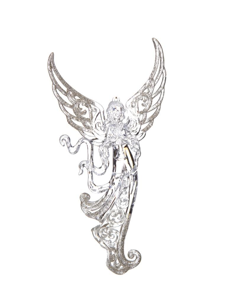 Украшение Crystal Deco Ангел 17cm Silver-Gold 150044