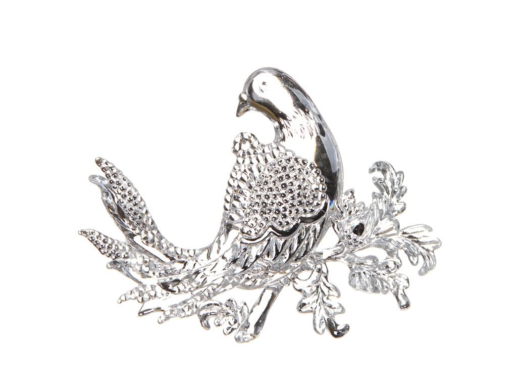 Украшение Crystal Deco Голубка 10cm Transparent-Silver 150067