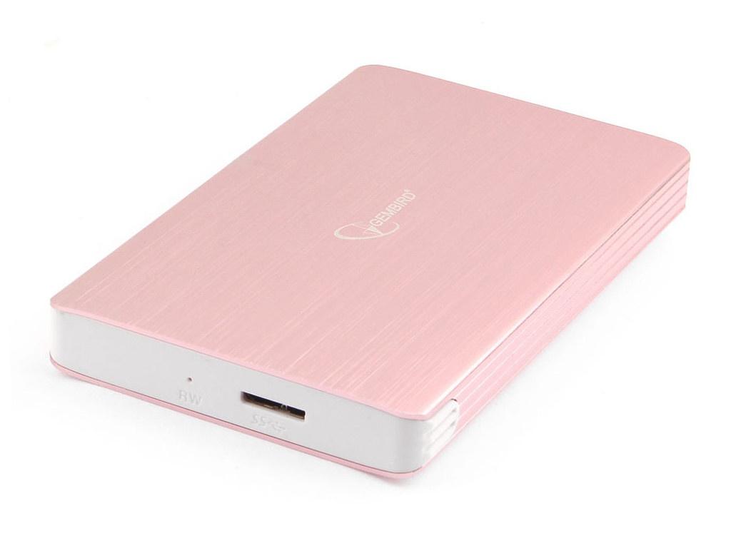 Внешний корпус Gembird EE2-U3S-65 USB 3.0 SATA Rose Gold